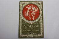 Carte postale ancienne Academie der Polytechniker Zurich Suisse