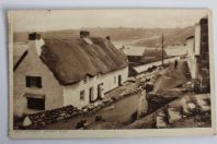 Carte postale ancienne Angleterre Old cottage Sennen Cove