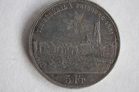 Monnaie 5 Francs tir fédéral Fribourg 1881 Suisse