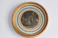 Gravure originale De Gouy d'après Leroy XVIIIe siècle