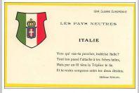 8 CPA illustrée Drapeaux Guerre 1914-18 Pays neutres Hélène SEGUIN