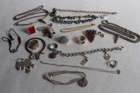 Bijoux argent Bracelets colliers pendentifs bagues