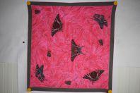 EMANUEL UNGARO Foulard soie Papillons