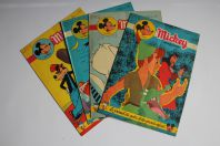 Mickey Magazine Janvier 1954 n°170 à n°173