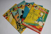 Mickey Magazine Septembre 1954 n°204 à n°208