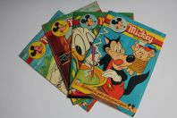 Mickey Magazine Octobre 1954 n°209 à n°212