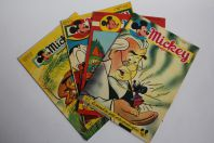 Mickey Magazine Novembre 1954 n°213 à n°216