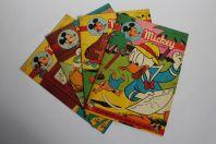 Mickey Magazine Mars 1954 n°178 à n°181