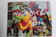 Calendrier Niki de Saint Phalle année 1990 Kunstkreis