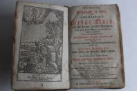 Gebat-Buch Livre de prière allemand 1797