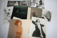 Lot 8 photos femmes Actrices Pin-up