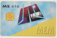 Carte à puce Incard Memory Secure Card MEM MS 416 Italie