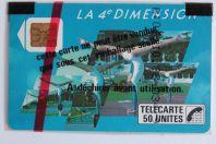Télécarte à puce France 4e Dimension Femmes 1988 NSB