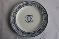 Assiette porcelaine anglaise Alton Minton