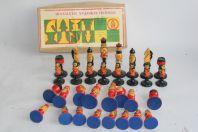 Pièces Jeu d'échecs Russe 1983 Matriochkas