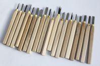 Anciens outils sculpture sur bois