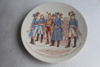 Assiette Sarreguemines grands généraux république N°:12 Carnot...