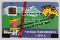 Télécarte à puce France Allo le ciel 50U 1988 NSB