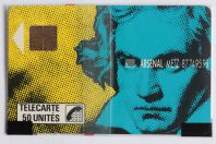 Télécarte à puce France Beethoven 1989 NSB