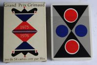 Jeu de 54 cartes Grand Prix Grimaud 1975 / 1976 par His