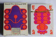 Jeu de 54 cartes Grand Prix Grimaud 1974 par Tuan