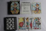 Jeu de 54 cartes Grimaud Carnavals 1983 Silvia Maddonni
