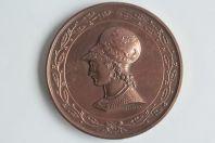 Médaille Brevet d'institutrice 1880 Desaide