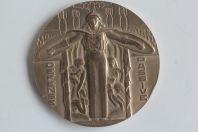 Médaille Défense Passive Guerre 1939-1945 R. Cochet Art déco