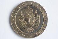 Médaille Motor Yacht Club de la Côte d'Azur MYCCA Cannes