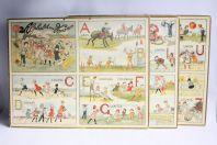 Panneaux éducatifs Alphabet des vacances R. de Nezières