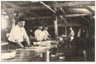 CPA GUERRE 1914-18 N°7 Camp d'Erfurt La lessive des prisonniers