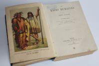 Livre Les races humaines Louis Figuier 1880