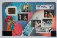Télécarte à puce France Épinal Câble 120 U 1989 NSB