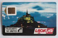 Télécarte à puce France J.T.B. Mont St Michel 1989 NF