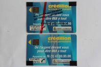 Télécartes à puce France Credilion 1989 NSB