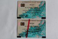 Télécartes à puce France Chapelle royale 3 1989