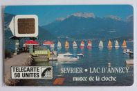 Télécarte à puce France Sévrier 1989 NF