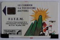 Télécarte à puce France FITEM 89 SC4on 1989 NSB