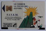 Télécarte à puce France FITEM 89 SC4ob 1989 NSB