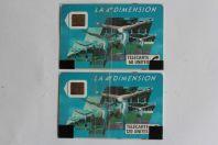 Télécartes à puce France 4e Dimension Femmes 1988 NSB