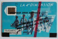 Télécarte à puce France 4e Dimension Hommes 1988 NSB