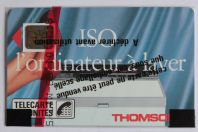 Télécarte à puce France ISO Thomson SC4on 1989 NSB
