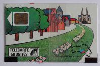 Télécarte à puce France L'Orne SC5on 1989 NSB