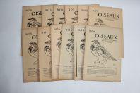 Bulletin Nos Oiseaux 1947/1948 N°190 à 201 société ornithologique Suisse
