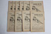 Bulletin Nos Oiseaux 1949/1950 N°202 à 213 société ornithologique Suisse