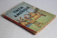 BD TINTIN Tintin en Amérique B4 1950 Casterman