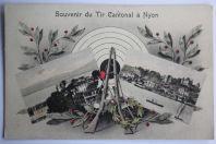 CPA Souvenir du Tir cantonal à Nyon Suisse