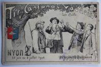CPA Tir cantonal vaudois Nyon 1906 Suisse