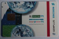 Carte à puce Gemplus Ericsson Telecom 1999 Smart card demo