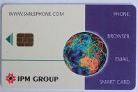 Carte à puce Smart card Smilephone IPM Group Italie